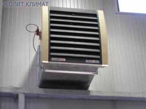 Монтаж воздушно-отопительных агрегатов