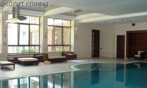 Система вентиляции и микроклимат в бассейне