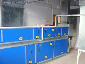 Приточно-вытяжная система вентиляции бассейна