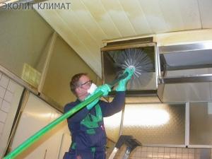 Очистка вентиляции